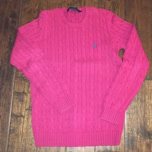 Hot Pink Ralph Lauren Sport sweater